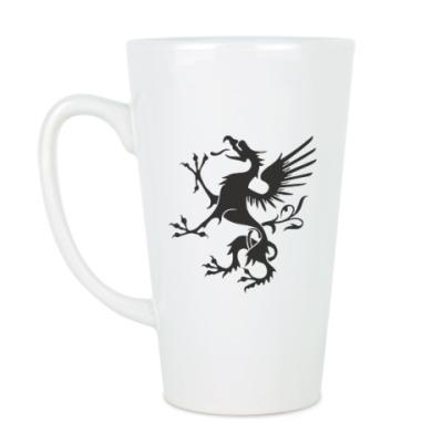 Чашка Латте Грифон