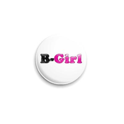 Значок 25мм B-Girl