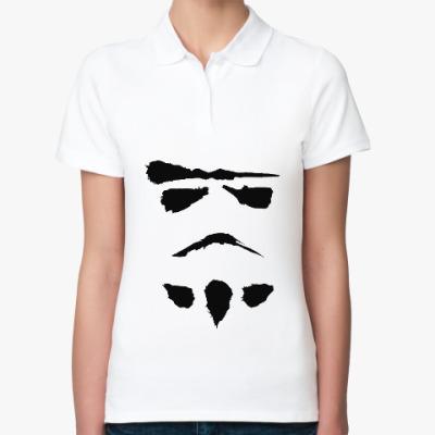 Женская рубашка поло минималистичный штурмовик
