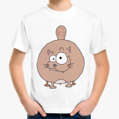 Детская футболка Двухсторонний кот