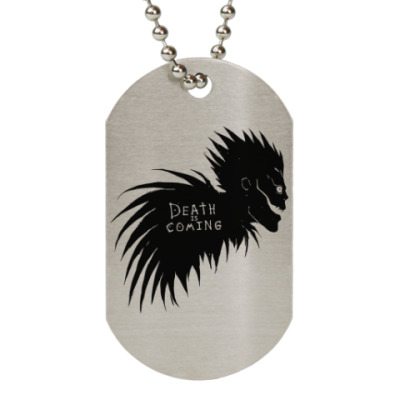 Жетон dog-tag Death is coming