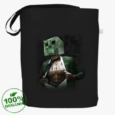 Сумка Minecraft creeper