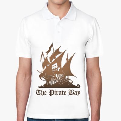 Рубашка поло поло пират the pirate bay