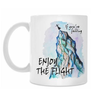 Кружка Наслаждайтесь полетом