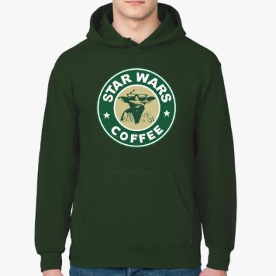 Толстовка худи Star Wars VII coffee