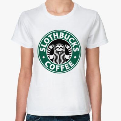 Классическая футболка Ленивец