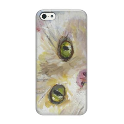 Чехол для iPhone 5/5s Нежный котик