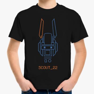 Детская футболка Робот по имени Чаппи