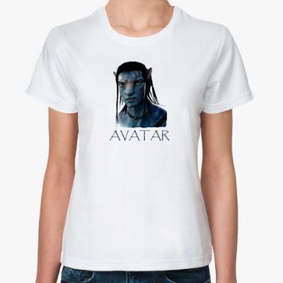 Классическая футболка  Avatar Jake Sully