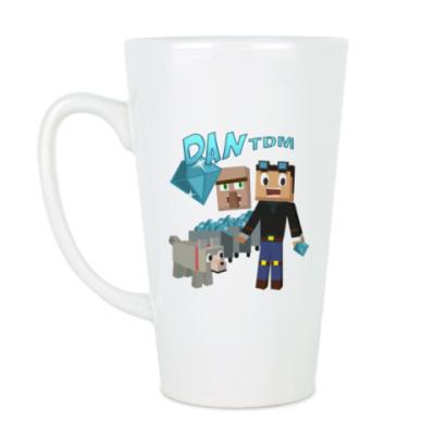 Чашка Латте Minecraft