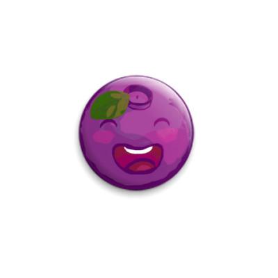 Значок 25мм  Bilberry