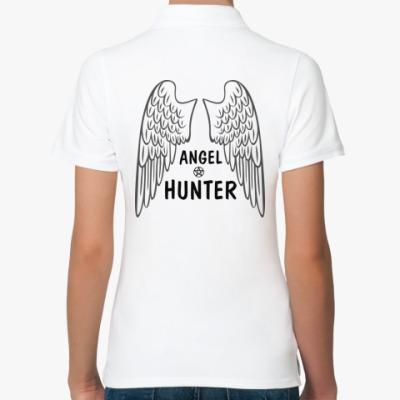 Женская рубашка поло Supernatural