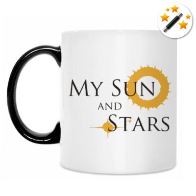 Кружка-хамелеон Мое солнце и звезды