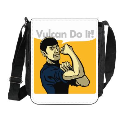 Сумка на плечо (мини-планшет) Vulcan do it!