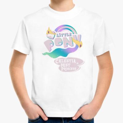 Детская футболка Принцесса Селестия Лучшая Пони