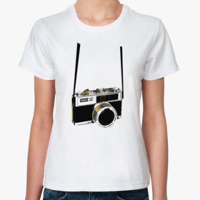 Классическая футболка Фотограф