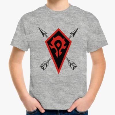 Детская футболка Орки Warcraft