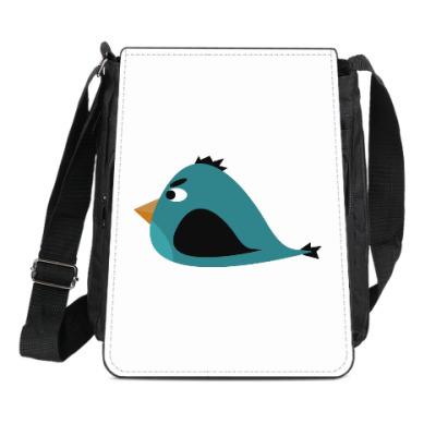 Сумка-планшет Злая птица