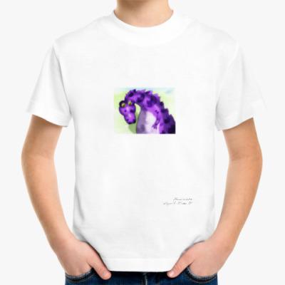 Детская футболка 'Космический дракон'