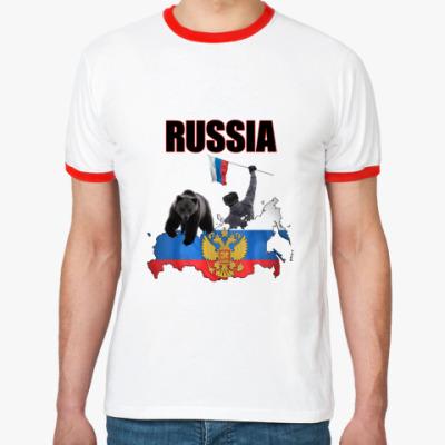 Футболка Ringer-T Russia