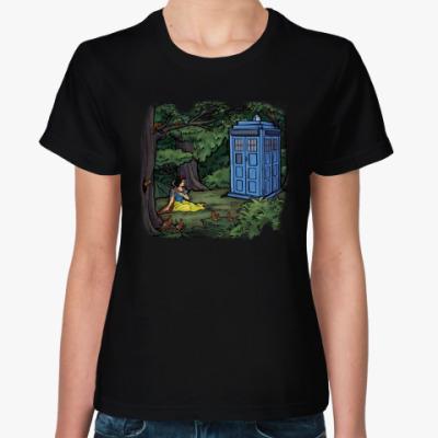 Женская футболка Doctor Who Белоснежка