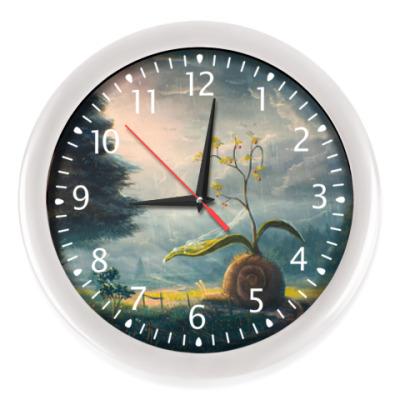 Настенные часы Часы Snail traveler