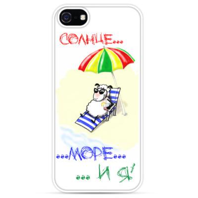 Чехол для iPhone А мне б на море...