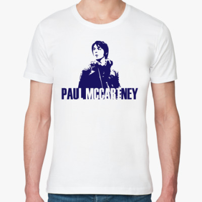 Футболка из органик-хлопка Paul Mccartney