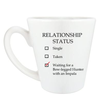 Чашка Латте В ожидании охотника с Импалой
