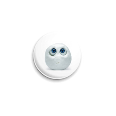 Значок 25мм  Snowball