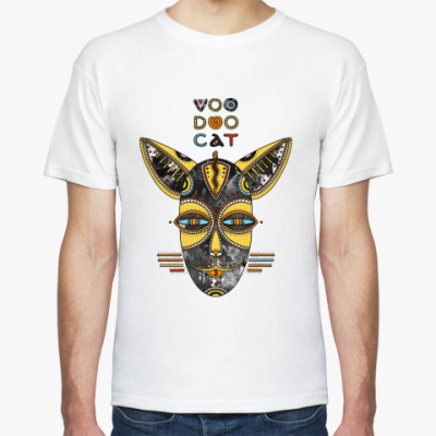 Футболка Вуду кот