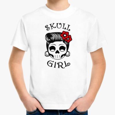 Детская футболка Skull_girl