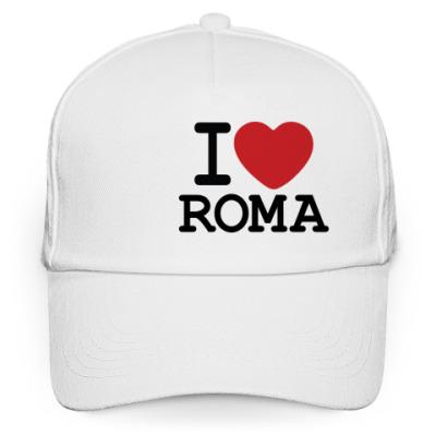 Кепка бейсболка I Love Roma