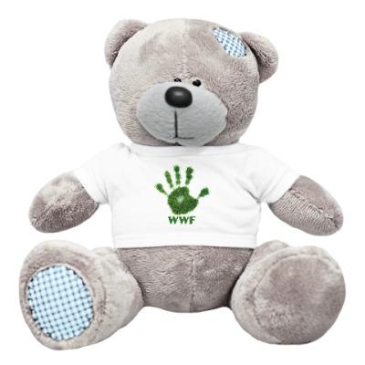 Плюшевый мишка Тедди WWF. Дай пять!