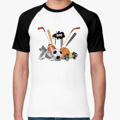 Футболка реглан MAD Sport