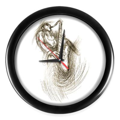 Настенные часы Джазмен
