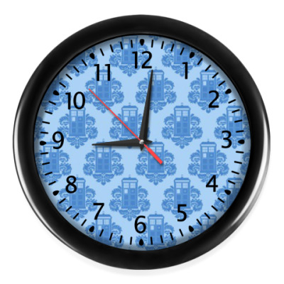 Настенные часы Тардис (Доктор Кто)