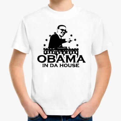 Детская футболка OBAMA