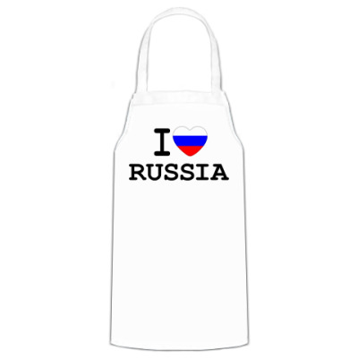 Фартук  I Love Russia