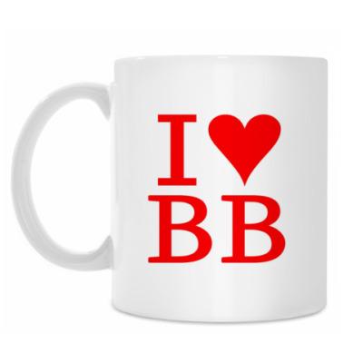 Кружка I love BB