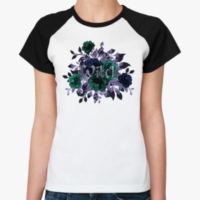 Женская футболка реглан Witch