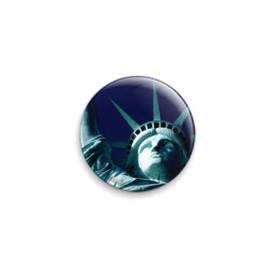 Значок 25мм  Liberty