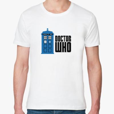 Футболка из органик-хлопка TARDIS