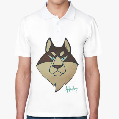 Рубашка поло Хаски