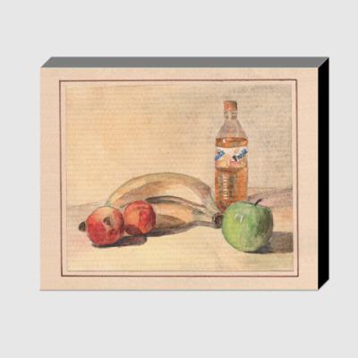 Холст Натюрморт с яблоками