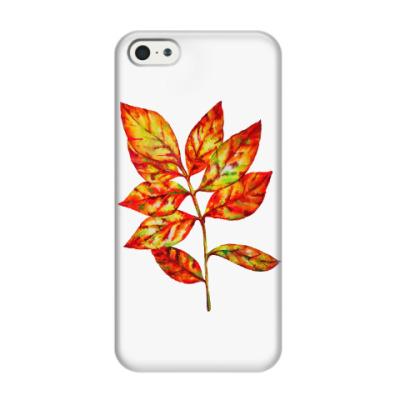 Чехол для iPhone 5/5s Осенний лист