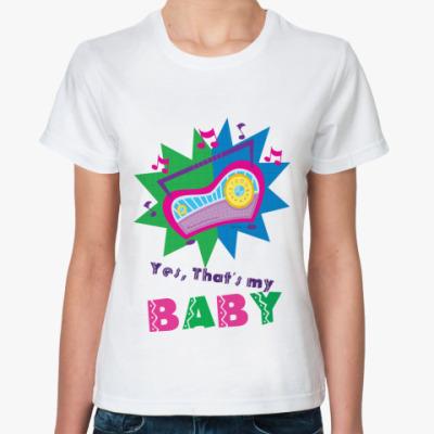 Классическая футболка  Мафон