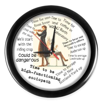 Настенные часы Время Шерлока BBC