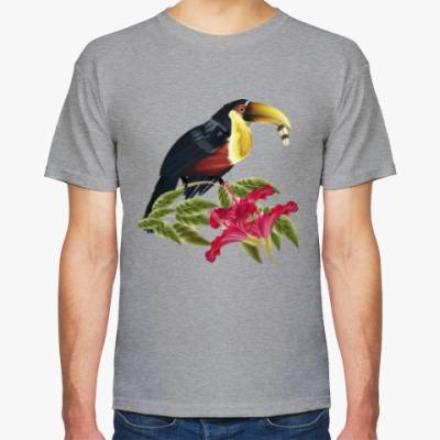 Футболка Тропическая птица