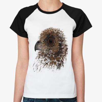 Женская футболка реглан Орлиный глаз